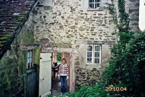 achterkant huis bij de eerste bezichtiging