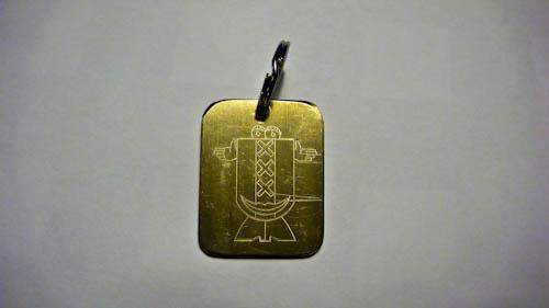 Sleutelhanger ontworpen door Juan