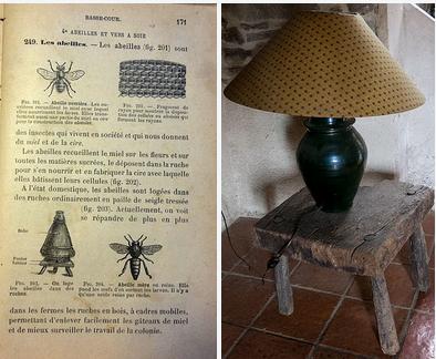 Tafel en boek uit dezelfde tijd